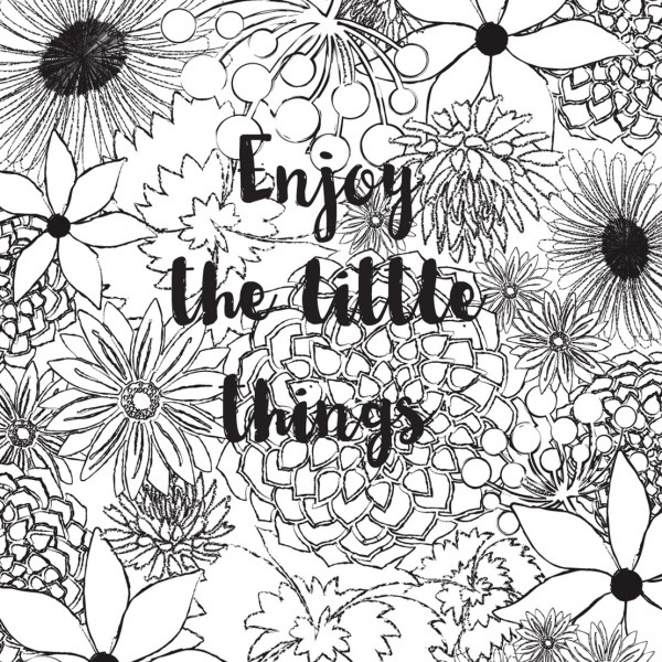 2016 etch and co colouring calendar enjoy the little things page